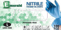 Emerald Powder-Free Nitrile Exam Gloves – 3.5 Mil