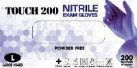 Emerald Touch 200 Nitrile Exam Gloves – 3.5 mil